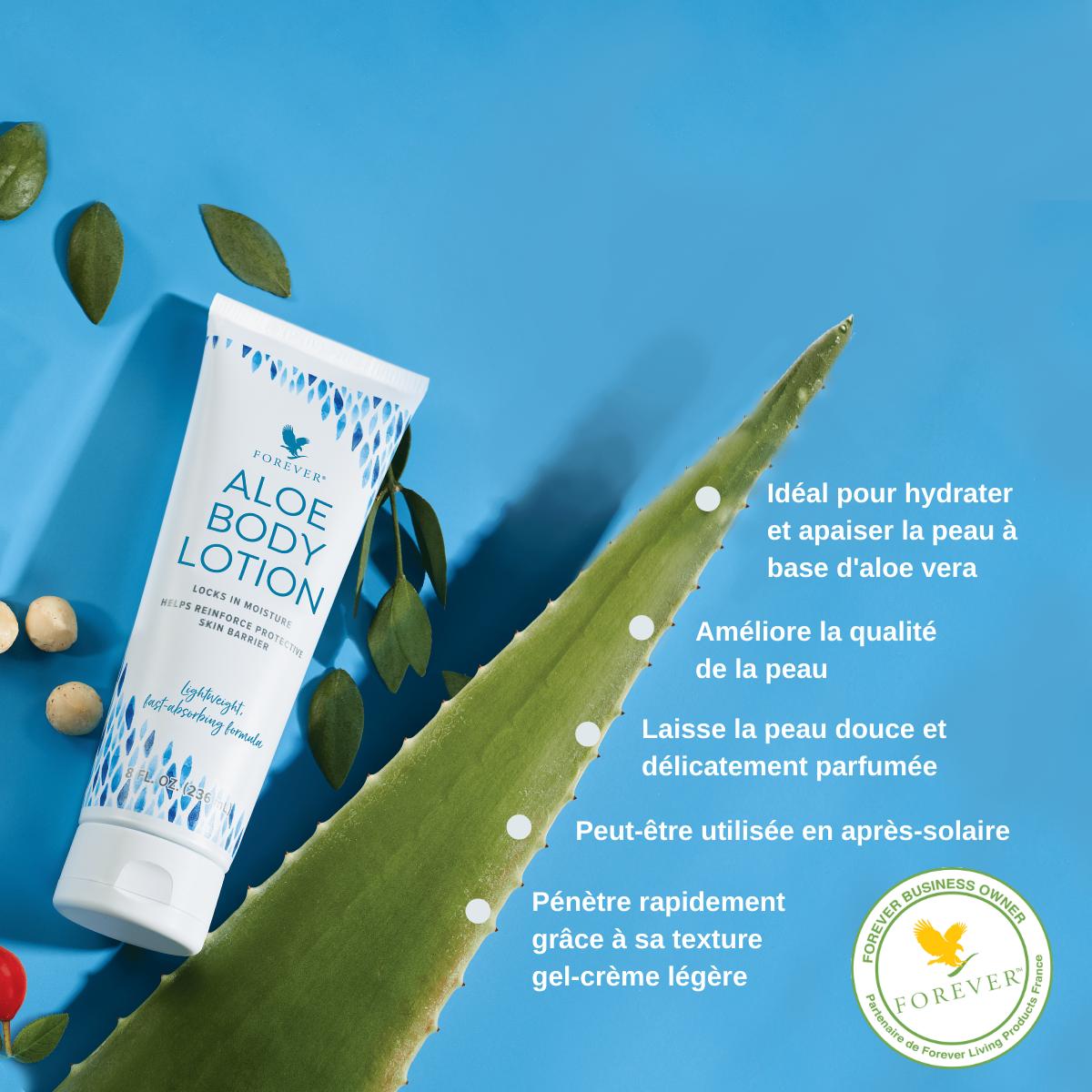 Découvrez notre nouveau produit Aloe Body Lotion !